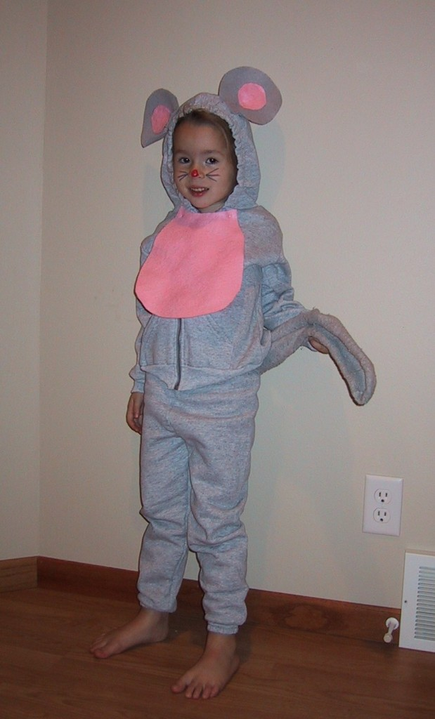 homemade halloween costumes mouse