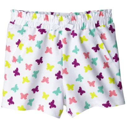 Circo Infant Toddler Girls' Short - Fresh White