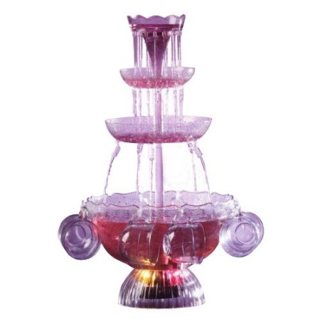 Nostalgia Electrics Lighted Party Fountain Beverage Set - Amazon Deals