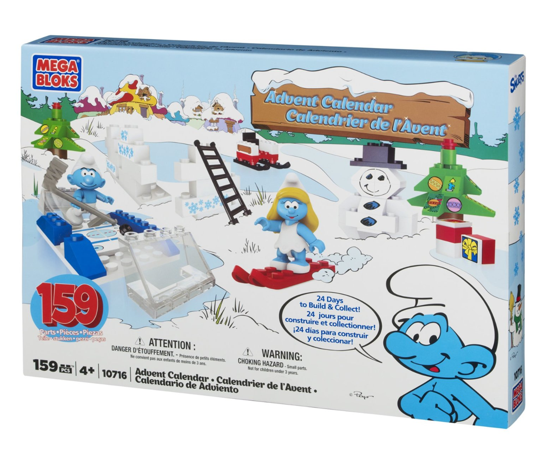 amazon toy deals smurf advent calendar