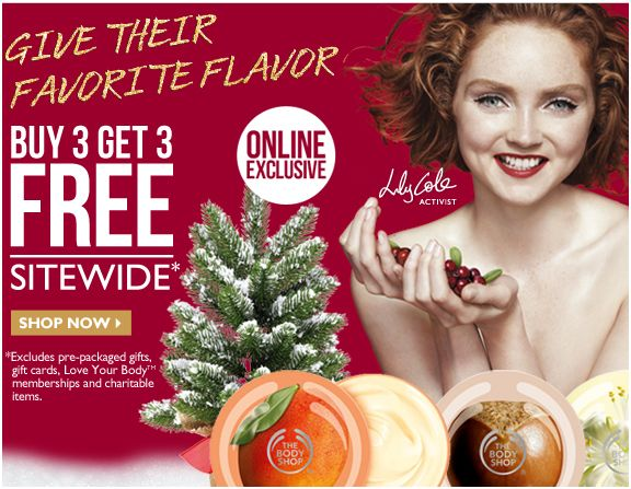 The Body Shop Christmas 2012 - Frugal Gift Ideas