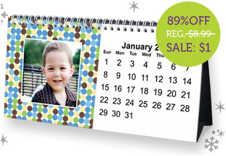 York Photo Desk Calender - Frugal Gift Idea