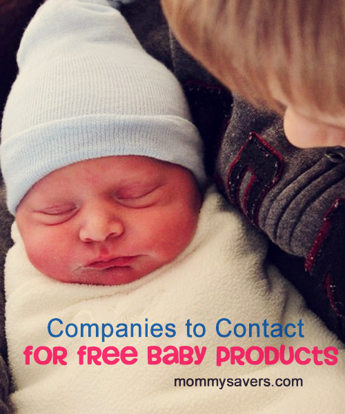 companies to contact baby freebies