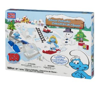 smurfs advent calendar