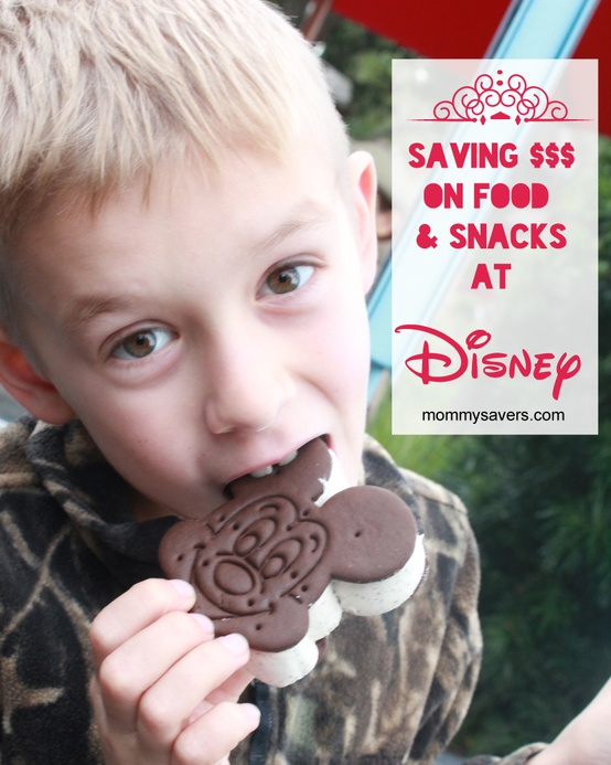 saving money on food at Disney