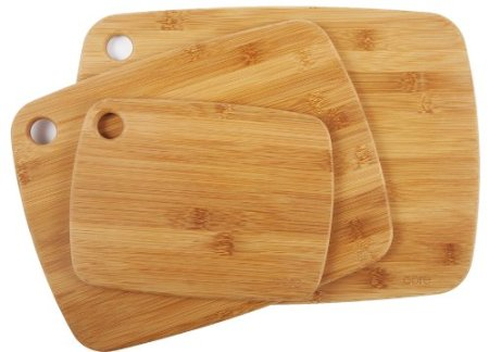 Bamboo Cutting Board Set - Frugal Gift Idea - Amazon Deals