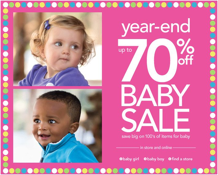 Carter's Year End Baby Sale