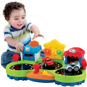 Fisher-Price Chase & Race Town - Amazon Toy Deals