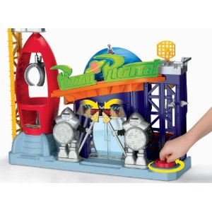 Fisher-Price Imaginext Disney Pixar Toy Story Pizza Planet Playset - Amazon Toy Deals