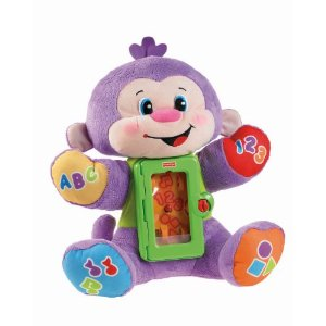 Fisher-Price Laugh and Learn Apptivity Monkey - Amazon Toy Deals