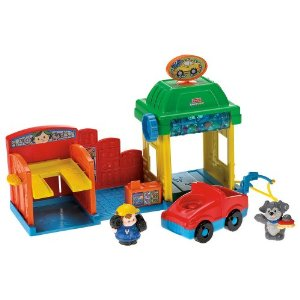 Fisher Price Little People Car Wash - Target Toy Deals