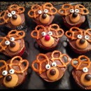 easy chocolate reindeer cupcakes