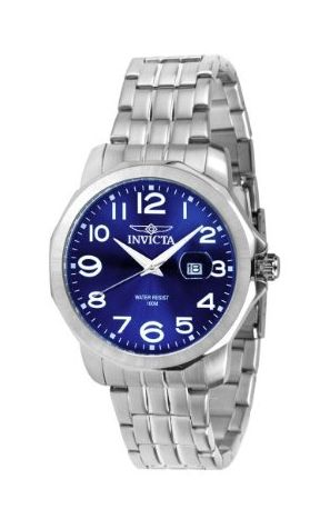 Invicta Mens Stainless Steel Watch - Amazon Deals