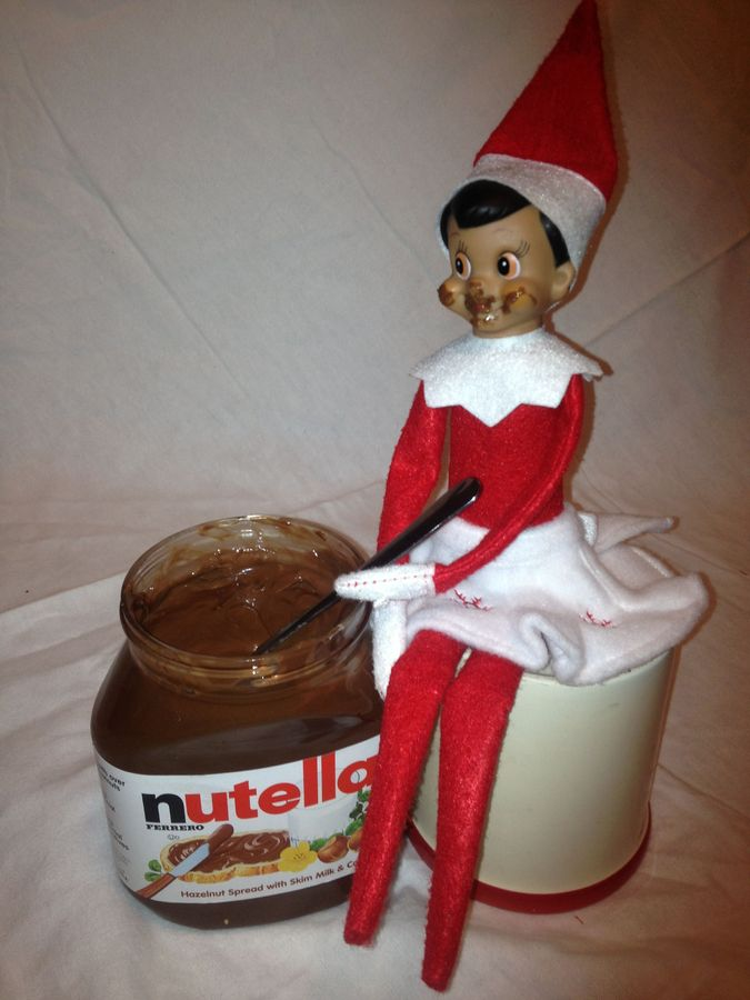 elf on the shelf mischief