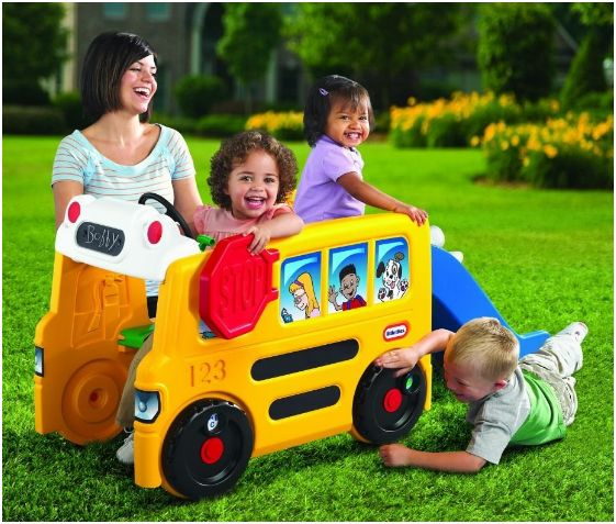 Little Tikes School Bus Activity Gym - Amazon Toy Deals