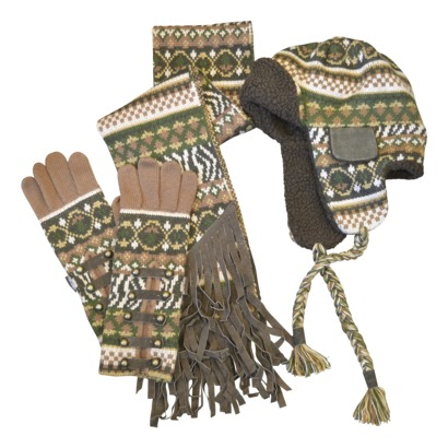 MUK LUKS® Trapper Hat, Gloves, and Scarf set - Target Online Clearance