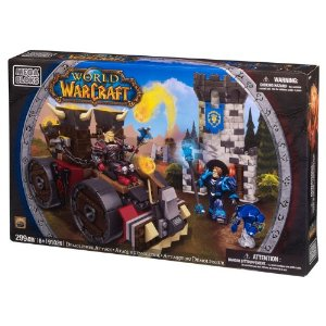 Mega Bloks World of Warcraft Seige Engine Attack - Amazon Toy Deals