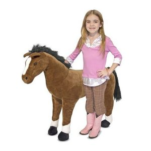 Melissa & Doug Horse Plush - Amazon Toy Deals