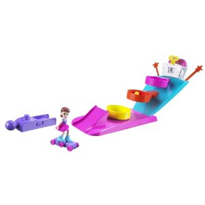 Polly Pocket Tricked Out Game On Basketball Playset - Amazon Toy Deals
