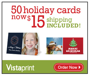 photo deals vistaprint holiday cards
