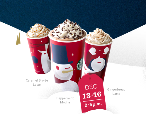 starbucks bogo holiday offer