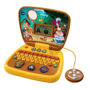 VTech Jake and the Never Land Pirates Treasure Hunt Learning Laptop - Amazon Toy Deals
