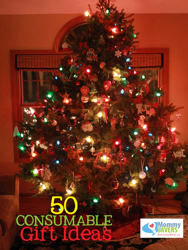50 Consumable Gift Ideas - Mommysavers