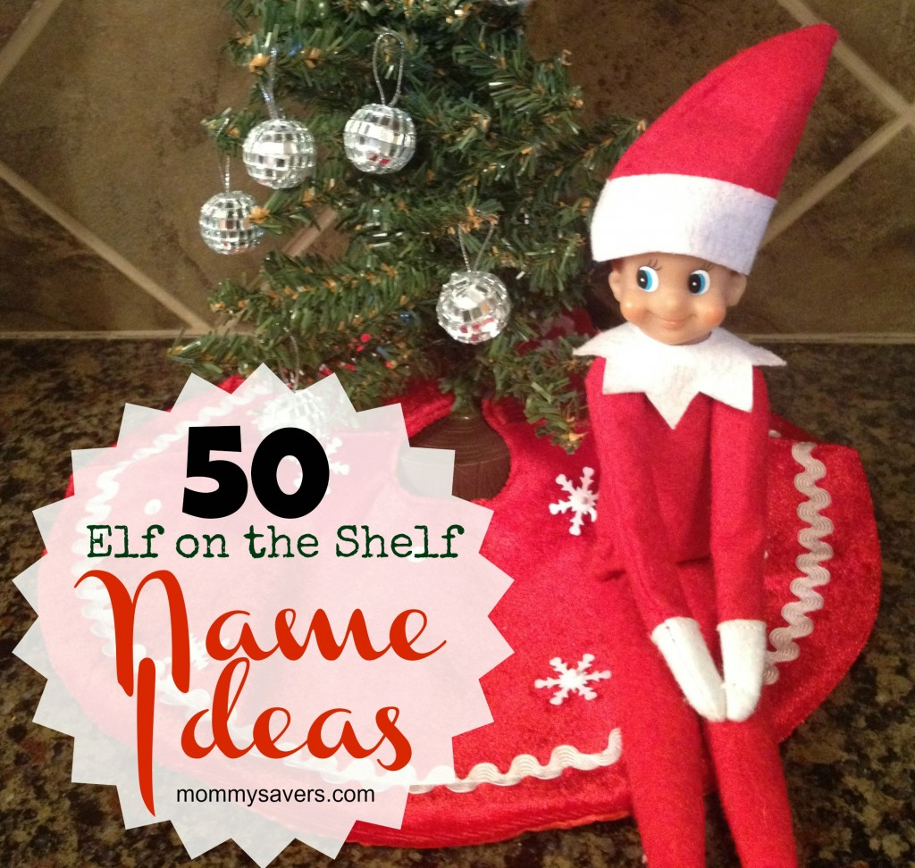Elf on the Shelf Names:  50 Ideas for Boys and Girls