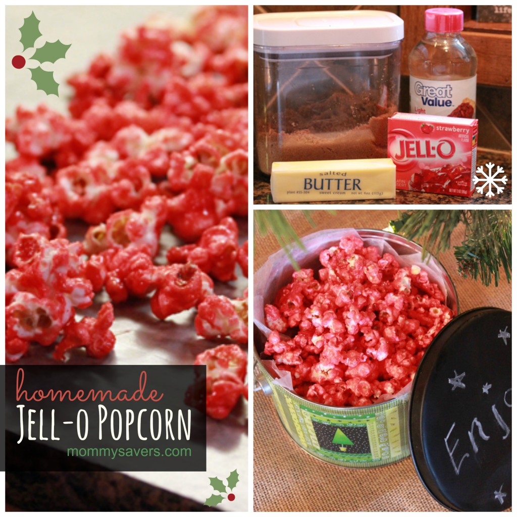 homemade jello popcorn