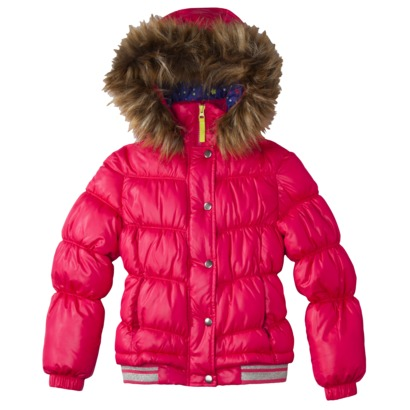 Girls Puffer Jacket - Target Clothing C;earance