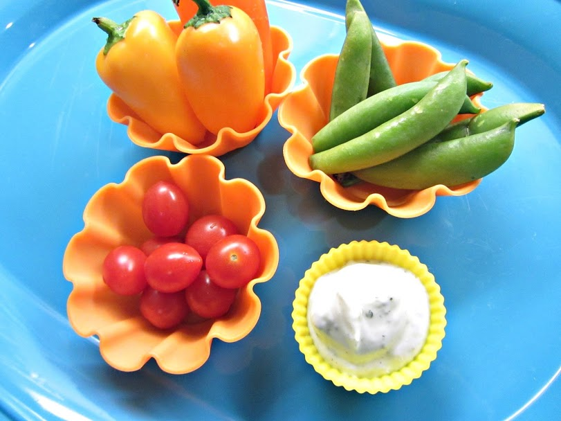muffin tin meal veggies