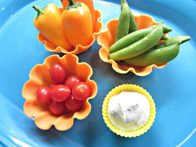 muffin tin meal veggies