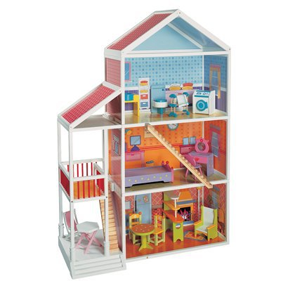 MAXIM Wooden Dollhouse Mansion - Target Toy Clearance