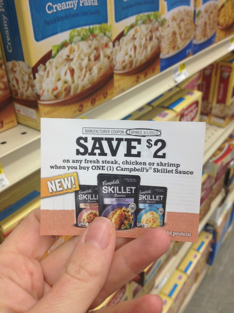 campbell's skillet meal coupon