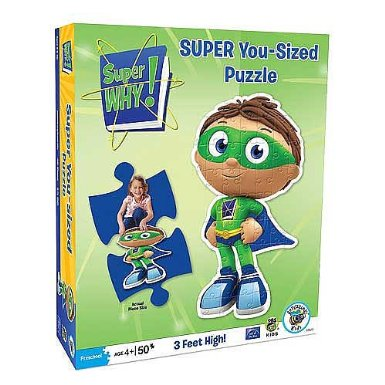 Super Why 50 Extra-thick Piece Floor Puzzle - Amazon Toy Deals
