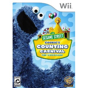 Wii Game - Sesame Street - Cookie Monster - Amazon Game Deals