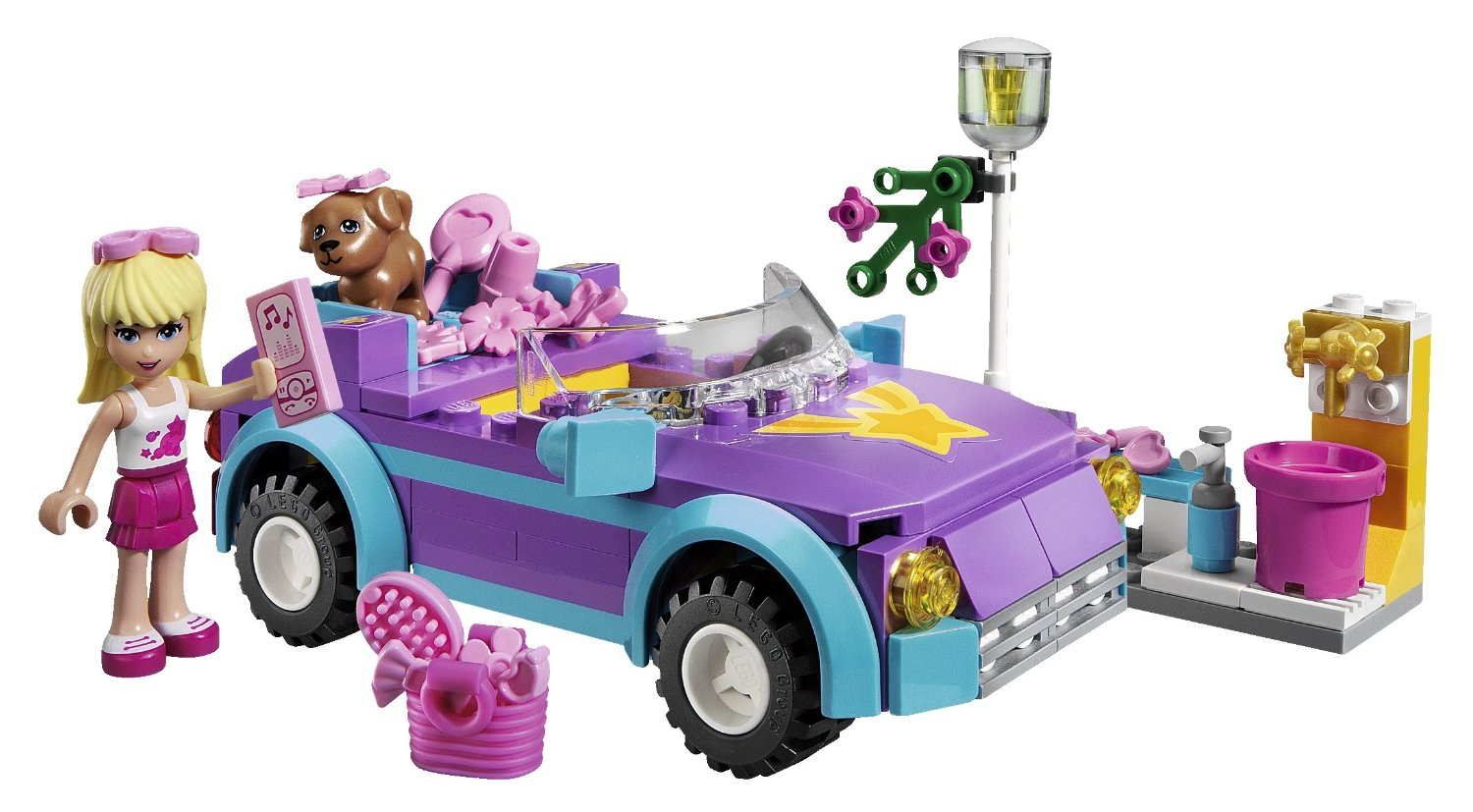 amazon toy deals lego friends convertible