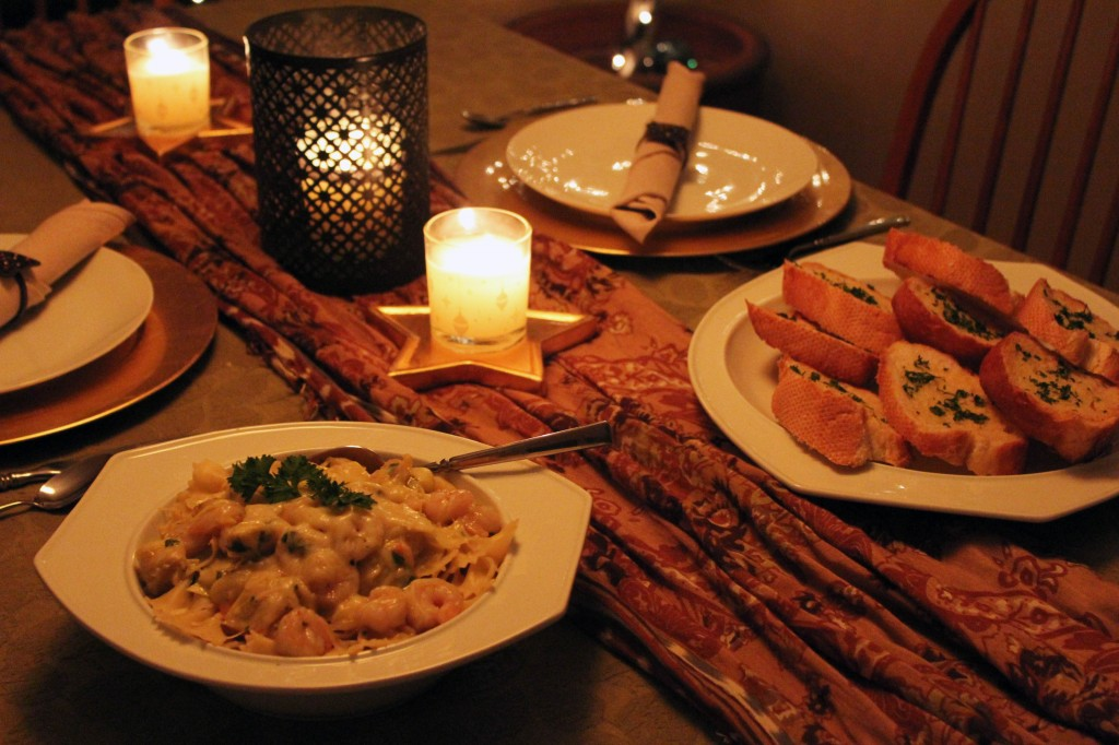 frugal date night dinner