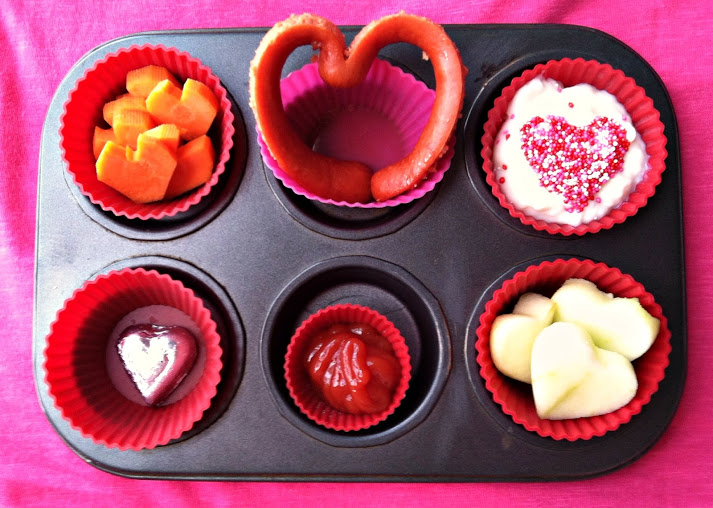 muffin tin meal valentines