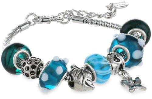 Glass Charm Bracelets Glass Beads And Charm
