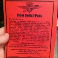 Disney Tips: Rider Switch Pass