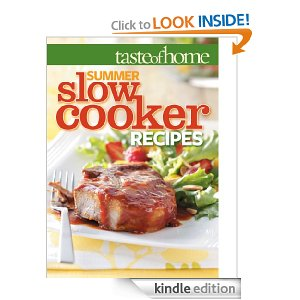 Taste of Home Summer Slow Cooker Recipes - Kindle FREEBIES