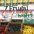 frugal grocery shopping habits