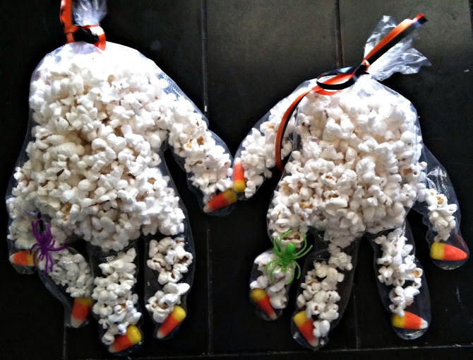 halloween craft witches hands