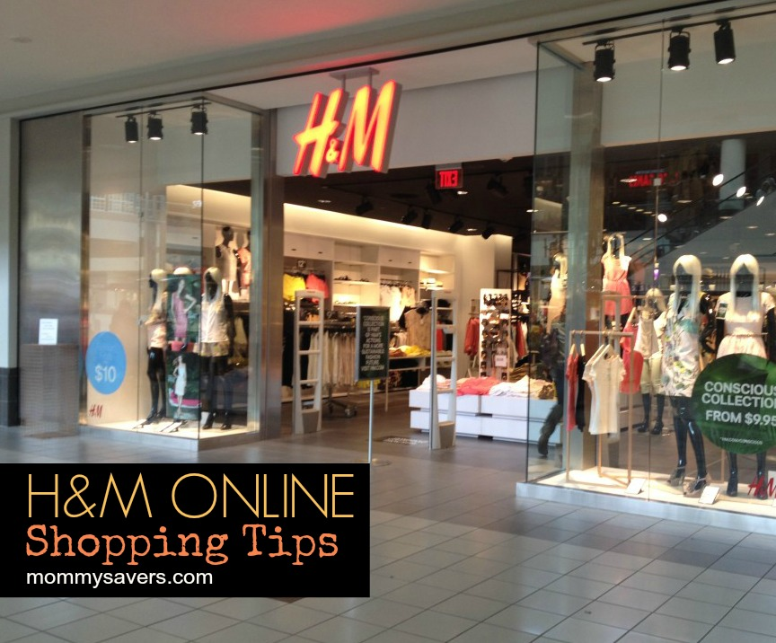 H&M Stores Online Shopping Tips Coupon Codes | Mommysavers.com