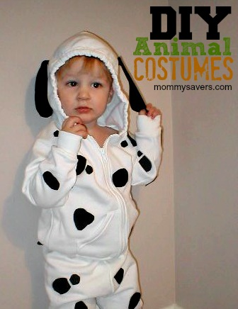 diy animal costumes for kids | mommysavers.com #Halloween