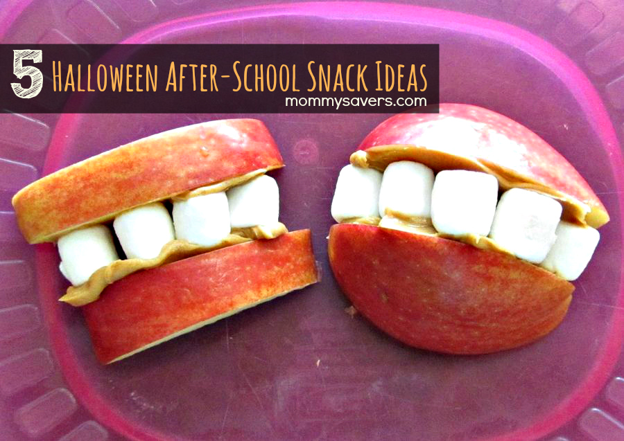 Halloween Snack Ideas for After-School