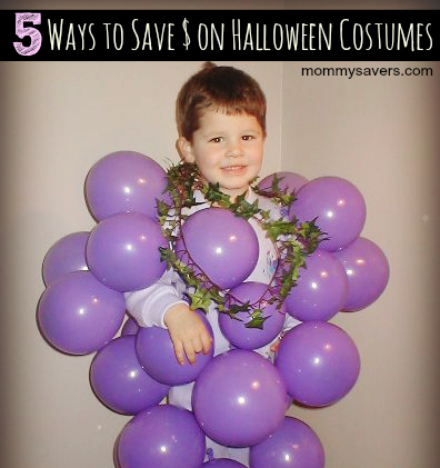 ways to save money on halloween costumes