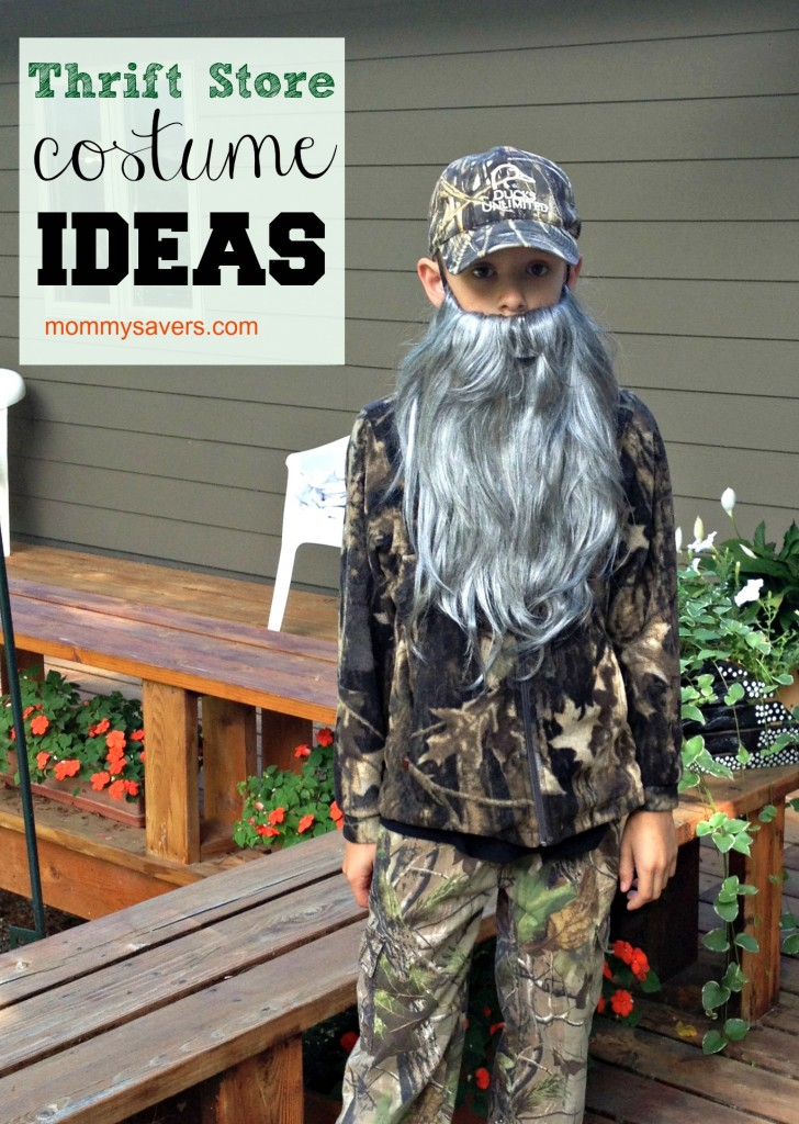 Thrift Store Halloween Costume Ideas | Mommysavers.com #Halloween