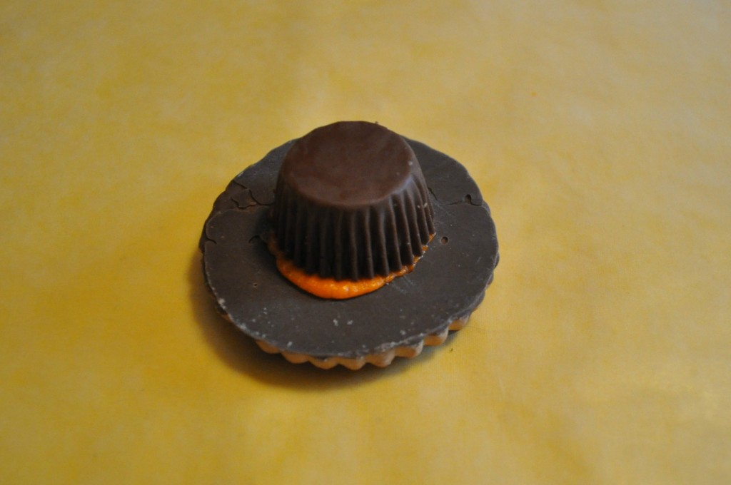 pilgrim hat cookie, thanksgiving treats